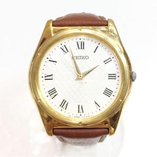 セイコー(SEIKO)のセイコー SEIKO V701 クォーツ時計 18613304(レザーベルト)