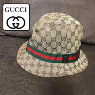 グッチ(Gucci)の美品♡GUCCI  男女兼用 大人気デザイン ハット 帽子GG柄 39000円→(ハット)