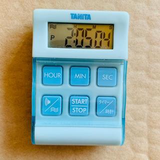 タニタ(TANITA)のTANITA TD-370 水色 ※電池入り(日用品/生活雑貨)