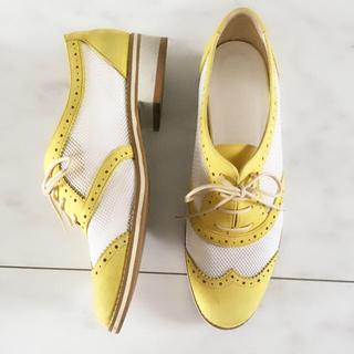 ダイアナ(DIANA)のDIANA メッシュ シューズ オックスフォード レースアップシューズ(ローファー/革靴)