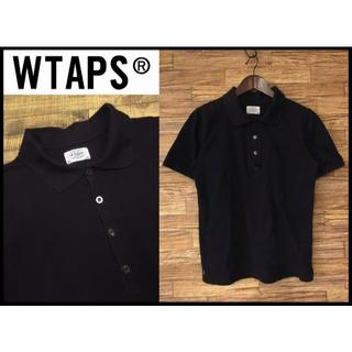 ダブルタップス(W)taps)のダブルタップス 11SS WHO DARES WINS 半袖 ポロシャツ 黒 S(ポロシャツ)