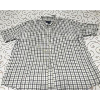 ランズエンド(LANDS'END)のLANDS' END(ランズエンド)半袖シャツ XL 綿100%(シャツ)