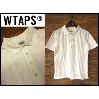 ダブルタップス(W)taps)のダブルタップス 11SS WHO DARES WINS 半袖 ポロシャツ 白 S(ポロシャツ)