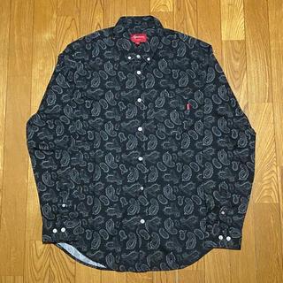 シュプリーム(Supreme)のM SUPREME 2013FW PAISLEY SHIRT ペイズリーシャツ (シャツ)