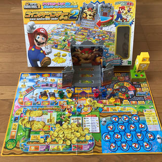 エポック(EPOCH)のスーパーマリオボードゲーム2台【まとめ買い】(スポーツ)