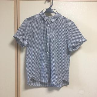 ジーユー(GU)のGU / ギンガムチェックシャツ(シャツ/ブラウス(半袖/袖なし))