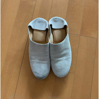 ネストローブ(nest Robe)のque shoes 靴 スウェード(ローファー/革靴)