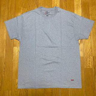 シュプリーム(Supreme)のレア新品グレー SUPREME HANES TAGLESS TEE tシャツ(Tシャツ/カットソー(半袖/袖なし))