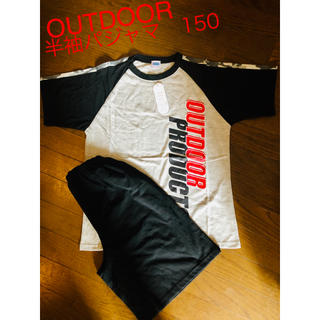 アウトドアプロダクツ(OUTDOOR PRODUCTS)の【新品】OUTDOOR 半袖パジャマ 150(パジャマ)