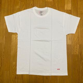 シュプリーム(Supreme)のSUPREME HANES TAGLESS TEES 白1枚(Tシャツ/カットソー(半袖/袖なし))
