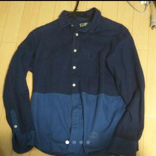 フレディアンドグロスター(FREDY & GLOSTER)のバイカラーシャツ 長袖(シャツ)