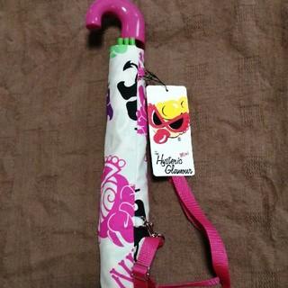 ヒステリックミニ(HYSTERIC MINI)のヒスミニ 折りたたみ傘 新品 未使用(傘)