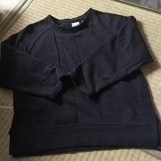 コーエン(coen)のcoen シンプル黒のカットソー(Tシャツ/カットソー)