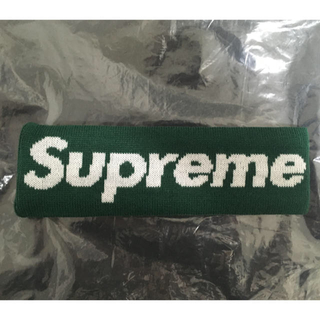 シュプリーム(Supreme)のSupreme New Era Big Logo Headband Green(その他)