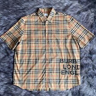 バーバリー(BURBERRY)のBURBERRY オーバーサイズシャツ (シャツ)