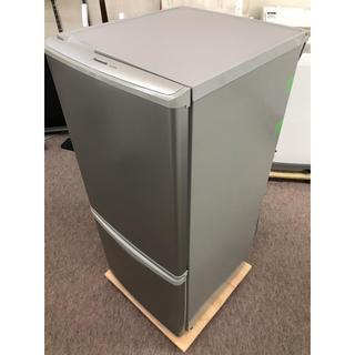 パナソニック(Panasonic)のPanasonic 2ドア冷凍冷蔵庫 NR-B144W-S 2012(冷蔵庫)
