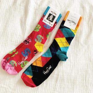 ヴィヴィアンウエストウッド(Vivienne Westwood)の新品未使用ハッピーソックスhappysocks靴下メンズウィメンズプニュズヴィヴ(ソックス)