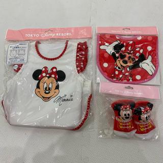 Disney - ミニーマウス ベビーセット