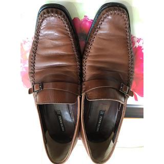 ブルーノマリ(BRUNOMAGLI)のBRUNO MAGLI ブラウンのローファー サイズ36(ローファー/革靴)