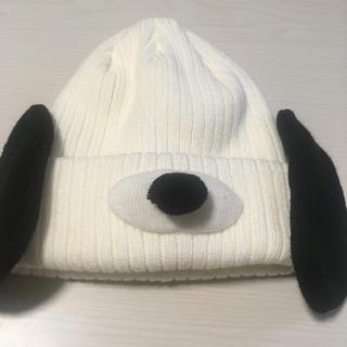 ユニバーサルスタジオジャパン(USJ)の【値下げ】スヌーピーニット帽(ニット帽/ビーニー)