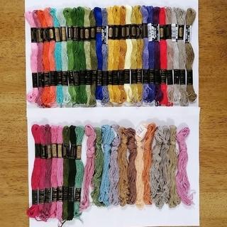 オリンパス(OLYMPUS)の刺繍糸 OLYMPUS★47本★set  オリムパス 25番 刺しゅう糸(生地/糸)