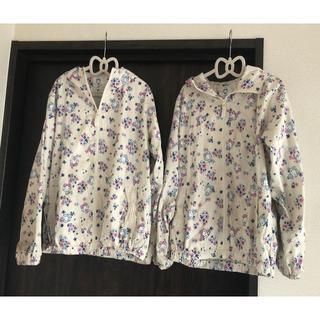 サンリオ(サンリオ)の【双子ちゃんに】サンリオ キティちゃんのパーカー2枚セット 150サイズ(ジャケット/上着)