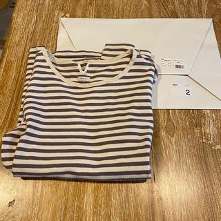 ヴィスヴィム(VISVIM)のvisvim BORDER CREW L/S(Tシャツ/カットソー(七分/長袖))