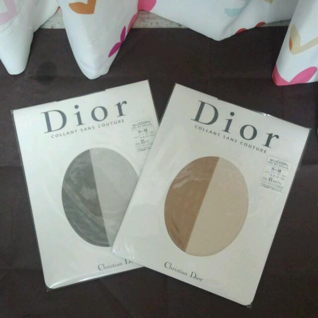 Christian Dior(クリスチャンディオール)のdior ストッキング2枚組 レディースのレッグウェア(タイツ/ストッキング)の商品写真
