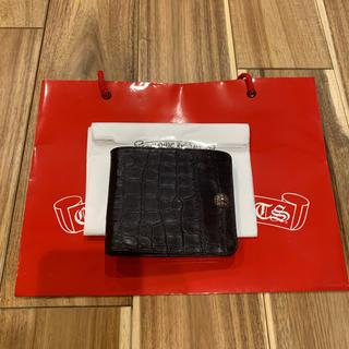 クロムハーツ(Chrome Hearts)のレア クロムハーツ アリゲーター 1SNAP ウォレット 財布 2つ折り財布(折り財布)