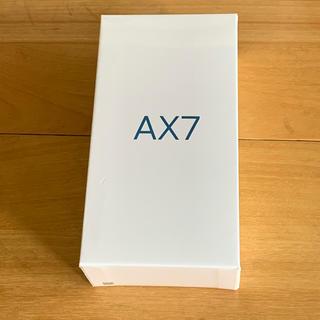 アンドロイド(ANDROID)のOPPO AX7 ゴールド 未開封(スマートフォン本体)