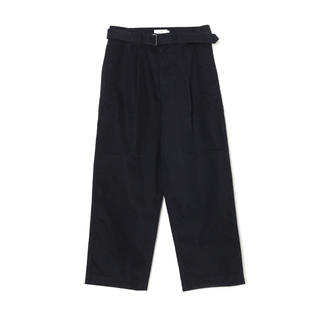 1LDK SELECT - Military Cloth Belted Pants