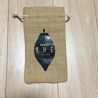 麻袋 meiji THE Chocolate 巾着袋(その他)
