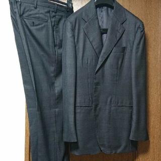 トゥモローランド(TOMORROWLAND)のスーツ 48 ゼニア トゥモローランド セットアップ ビジネス グレー (セットアップ)