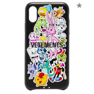 バレンシアガ(Balenciaga)のVETEMENTS Monster iPhone XS ケース 新品 確実正規品(iPhoneケース)