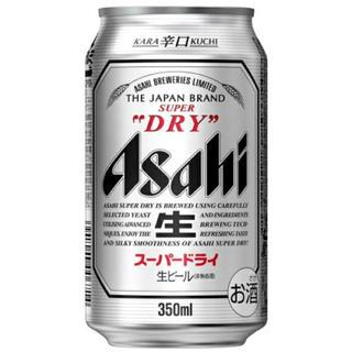 アサヒ(アサヒ)のアサヒスーパードライ 350ml(2ケース)(ビール)