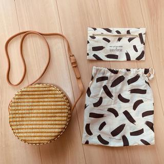 マイリトルボックス かご編みショルダーバッグ