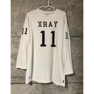 ダブルタップス(W)taps)のXL (L) wtaps 11AW QB フットボールシャツ 白(シャツ/ブラウス(長袖/七分))