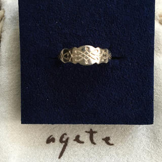 アガット(agete)のagete ピンキーリング シルバー 5号(リング(指輪))