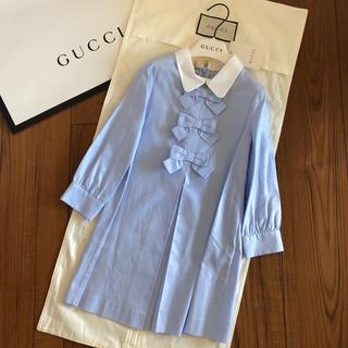 グッチ(Gucci)の【お取置き中】グッチチルドレン 新品ワンピース 5(ワンピース)