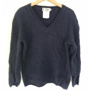 テンダーロイン(TENDERLOIN)のベンダー&ノア イースタリーのコラボセーター 紺(ニット/セーター)