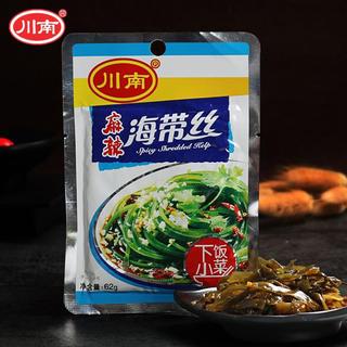 川南 漬物 麻辣海帯絲 辛口わかめ 細きり 中華惣菜62g(漬物)