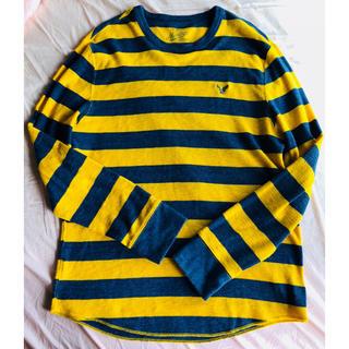 アメリカンイーグル(American Eagle)のアメリカンイーグル ボーダー Tシャツ ロンT(Tシャツ/カットソー(七分/長袖))