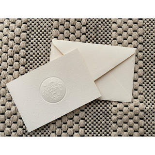 エルメス(Hermes)のHERMES エルメス メッセージカード(カード/レター/ラッピング)