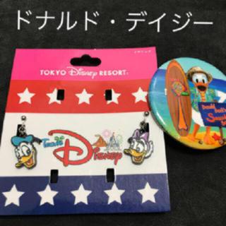 ディズニー(Disney)のチームディズニー ドナルド・デイジー イヤリング おまけ付き(イヤリング)