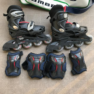 ローラースケート インラインスケート 18〜20センチ 子供用(ローラーシューズ)