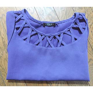 イング(INGNI)のブルーティシャツ(Tシャツ/カットソー(半袖/袖なし))