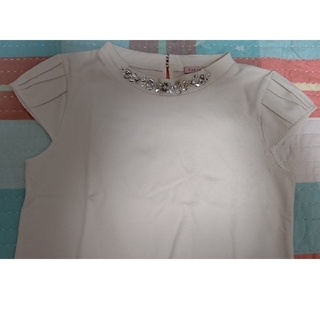 トッカ(TOCCA)の新品TOCCAトッカブラウスカットソーパフスリーブXS(シャツ/ブラウス(半袖/袖なし))