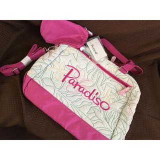 パラディーゾ(Paradiso)のParadiso パラディーゾ ゴルフ ボストンバッグ 新品 未使用 旅行カバン(バッグ)