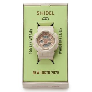 スナイデル(snidel)のmi様専用 15周年限定品スナイデル CASIO Baby-G コラボ(腕時計)