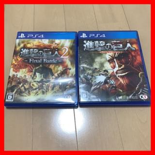 進撃の巨人 PS4 ソフト
